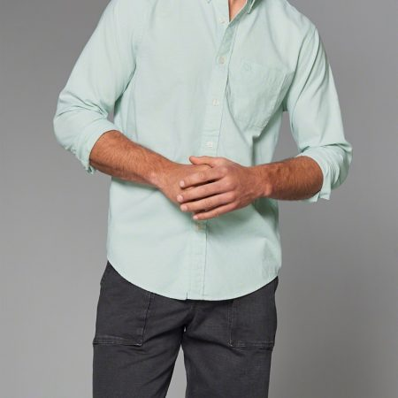 Hình Áo sơmi nam Abercrombie & Fitch AF-US-SM08 Icon Oxford Shirt