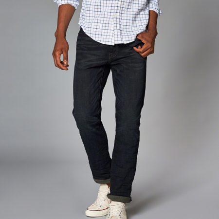 Hình Quần Jean nam Abercrombie & Fitch AF-US-J09 Slim Straight Jeans