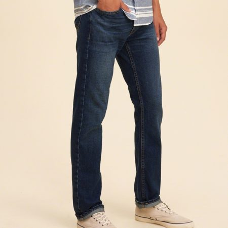Hình Quần jean nam Hollister HCO-US-J04 Slim Straight Jeans