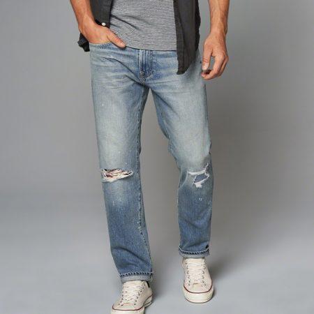 Hình Quần Jean nam Abercrombie & Fitch AF-US-J12 Slim Straight Jeans