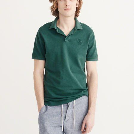 Hình Áo thun polo Abercrombie & Fitch AF-US-P24 Garment Dye