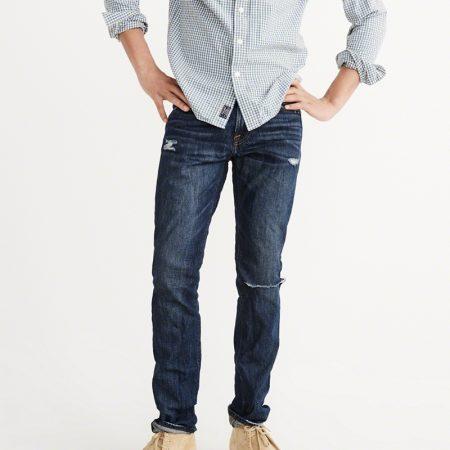 Hình Quần Jean nam Abercrombie & Fitch AF-US-J30 Skinny Jeans