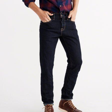 Hình Quần Jean nam Abercrombie & Fitch AF-US-J31 Slim Straight Jeans