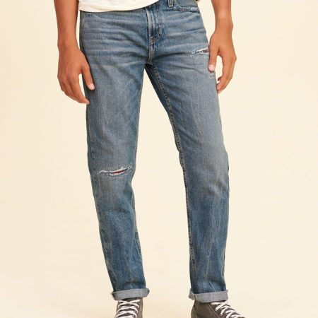 Hình Quần jean nam Hollister HCO-US-J12 Classic Taper Jeans