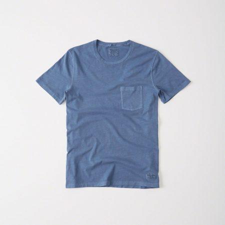Hình Áo thun nam Abercrombie & Fitch AF-T215 Garment Dye Crew Tee