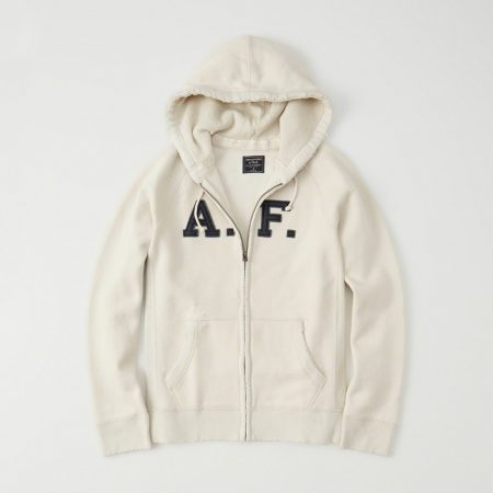 Hình Áo khoác nam Abercrombie & Fitch AF-US-K15 HEAVYWEIGHT APPLIQUE ZIP-UP HOODIE