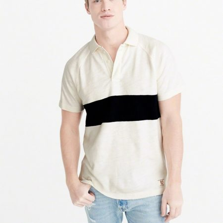 Hình Áo thun polo Abercrombie & Fitch AF-US-P27 RUGBY POLO