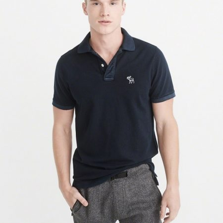 Hình Áo thun polo Abercrombie & Fitch AF-US-P29 Throwback Icon Polo