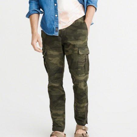Hình Quần Khaki nam Abercrombie AF-US-Q12 Athletic Skinny Cargo Pants