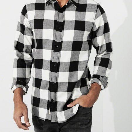 Hình Áo sơmi nam Hollister HCO-US-SM20 Lightweight Flannel Shirt