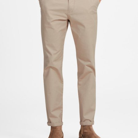 Hình Quần Chinos Jackjones JAJ-Q07 CODY SPENCER WW WHITE PEPPER NOOS