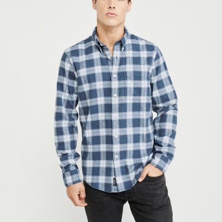 Hình Áo sơmi nam Abercrombie & Fitch AF-US-SM68 Spring Flannel Shirt