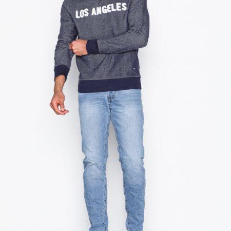 Hình Quần jeans nam Jack & Jones JAJ-J01 JJIMIKE JJICON CR 002 NOOS