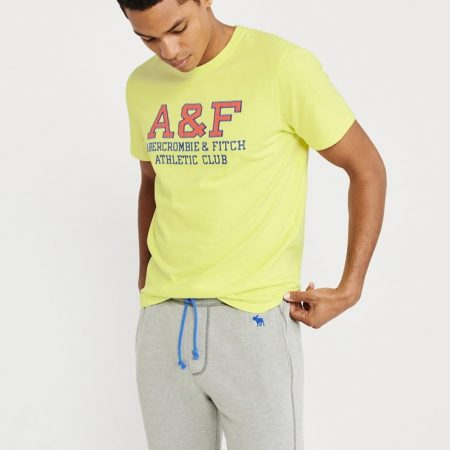 Hình Áo thun nam Abercrombie & Fitch AF-US-T23 Applique Logo Tee