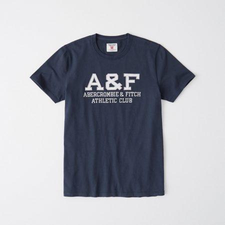 Hình Áo thun nam Abercrombie & Fitch AF-US-T33 Applique Logo Tee