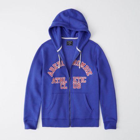 Hình Áo khoác nam Abercrombie & Fitch AF-US-K20 Full-Zip Logo Hoodie