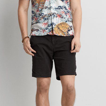 Hình Quần shorts khaki nam American Eagle AE-S01 Classic