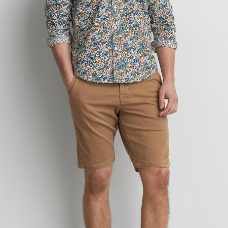 Hình Quần shorts khaki nam American Eagle AE-S04 Classic