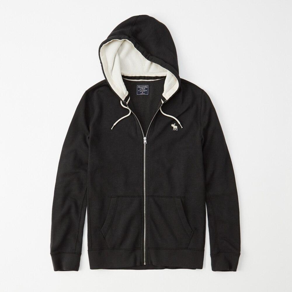Áo khoác nam Abercrombie & Fitch AF-K23 Full-Zip Icon Hoodie