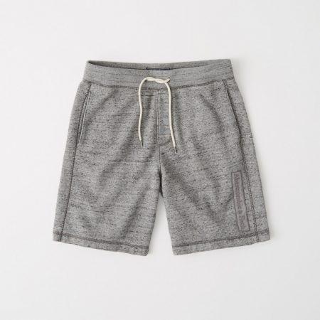 Hình Quần shorts thun nam AF-S06 Box Logo Fleece Shorts