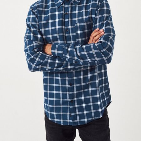 Hình Áo sơmi nam Hollister HCO-US-SM26 Twill Slim Fit Shirt