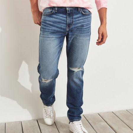 Hình Quần jean nam Hollister HCO-US-J22 Epic Flex Dad Jeans