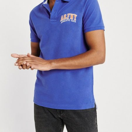 Hình Áo thun polo Abercrombie & Fitch AF-US-P41 Embroidered Logo Stretch Polo