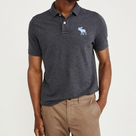 Hình Áo thun polo Abercrombie & Fitch AF-US-P47 Stretch Exploded Icon Polo
