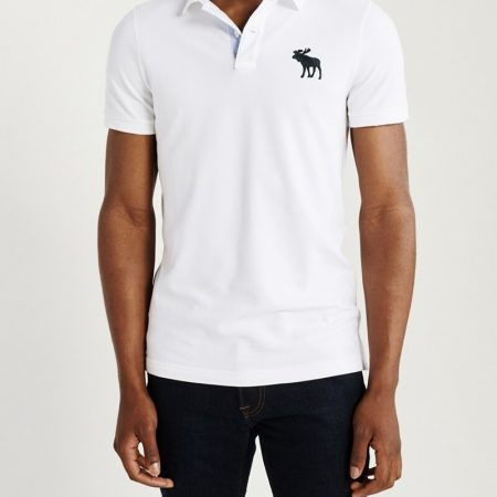 Hình Áo thun polo Abercrombie & Fitch AF-US-P51 Super Slim Exploded Icon Polo