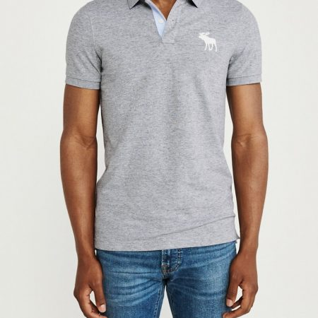 Hình Áo thun polo Abercrombie & Fitch AF-US-P52 Super Slim Exploded Icon Polo