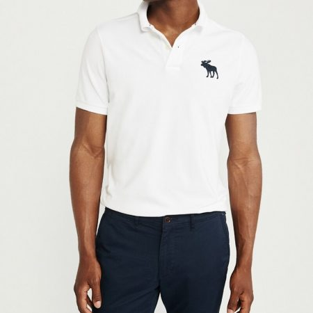 Hình Áo thun polo Abercrombie & Fitch AF-US-P53 Stretch Exploded Icon Polo