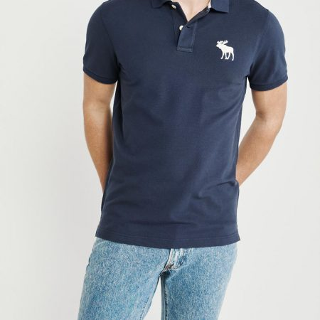 Hình Áo thun polo Abercrombie & Fitch AF-US-P55 Stretch Exploded Icon Polo