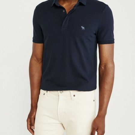 Hình Áo thun polo Abercrombie & Fitch AF-US-P63 Concealed Placket Polo