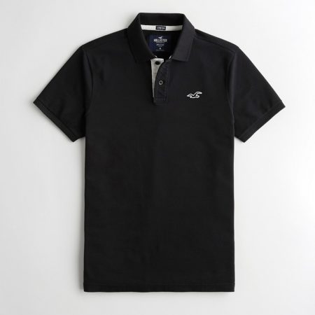 Hình Áo thun nam Hollister HCO-P223 Stretch Polo black