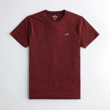 Hình Áo thun nam Hollister HCO-T147 Must-Have Crewneck T-Shirt Burgundy