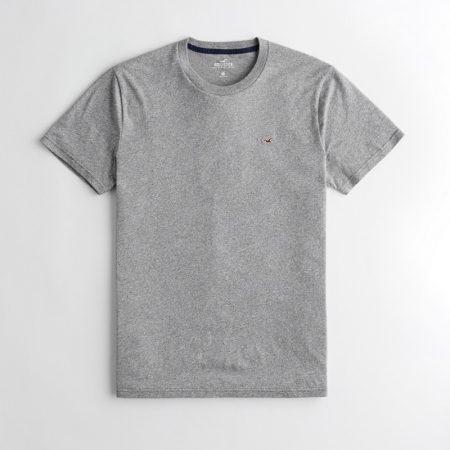 Hình Áo thun nam Hollister HCO-T156 Must-Have Crewneck T-Shirt Heather Grey