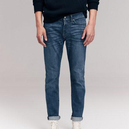 Hình Quần Jean nam Abercrombie & Fitch AF-US-J56 Athletic Skinny Jeans