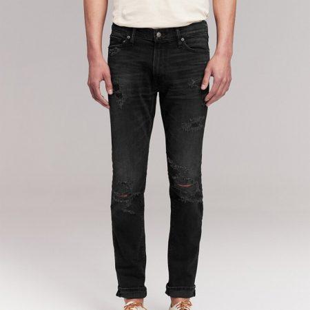 Hình Quần Jean nam Abercrombie & Fitch AF-US-J57 Skinny Jeans Black