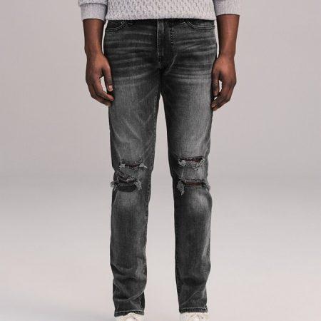 Hình Quần Jean nam Abercrombie & Fitch AF-US-J59 Distressed Skinny Jeans