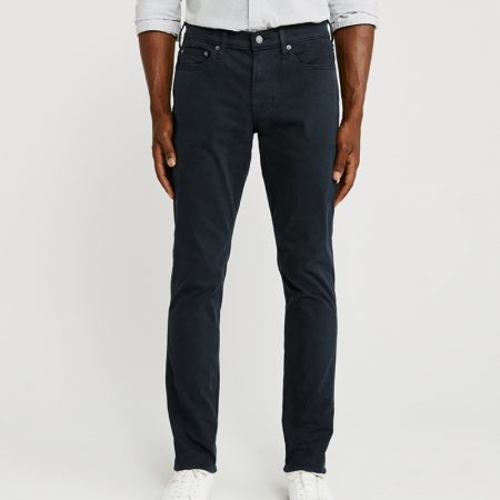 Hình Quần khaki nam AF-US-Q19  A&F Signature Stretch Twill  Skinny Sateen Pants