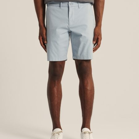 Hình Quần shorts Abercrombie AF-US-S07 Stretch Chino Shorts Light Blue