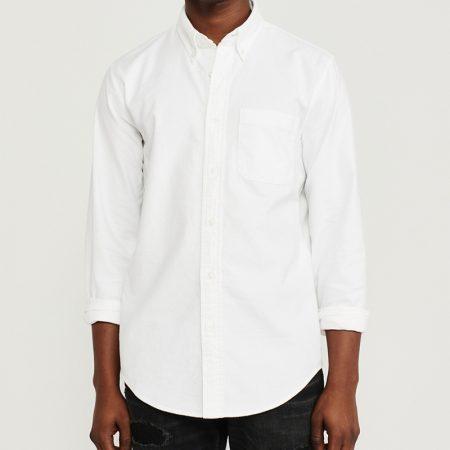 Hình Áo sơ mi nam Abercrombie AF-US-SM111 Oxford Shirt WHITE