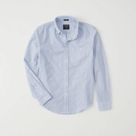 Hình Áo sơ mi nam Abercrombie AF-US-SM113 Stretch Oxford Button-Up Shirt