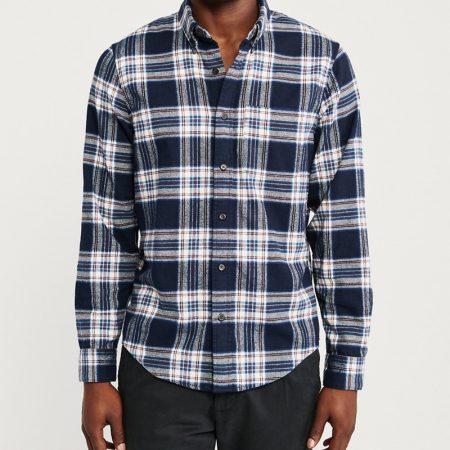 Hình Áo sơmi nam Abercrombie & Fitch AF-US-SM115 Plaid Flannel Shirt