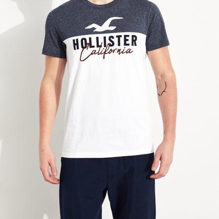Hình Áo thun nam Hollister HCO-US-T26 Colorblock Logo Graphic Tee