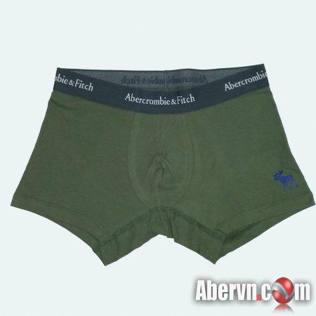Hình Quần lót nam Abercrombie AF-UD11 Classic Trunk Icon Print Dark Green
