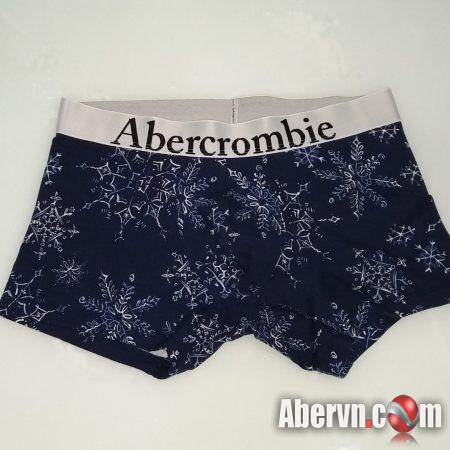 Hình Quần lót nam Abercrombie AF-UD13 Classic Trunk Snowflakes pattern