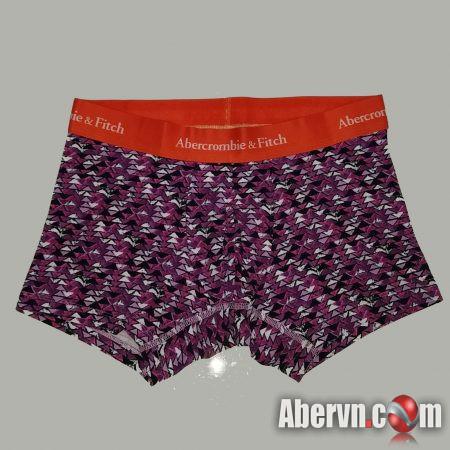 Hình Quần lót nam Abercrombie AF-UD14 Classic Trunk Purple Pattern