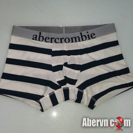 Hình Quần lót nam Abercrombie AF-UD20 Classic Trunk Stripes White