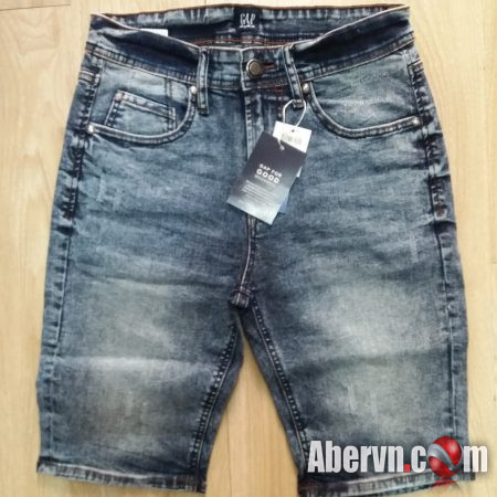 Hình Quần shorts jeans nam GAP-S02 Ripped acid washed
